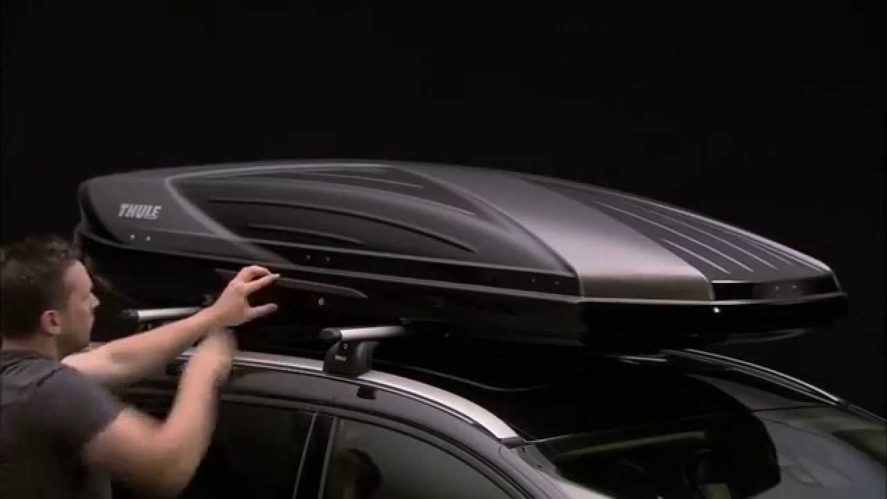 Roof Box Carriers India Thule Excellence Youtube