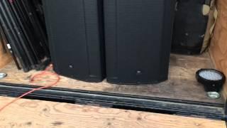 JBL SRX835P Quick Sound demo
