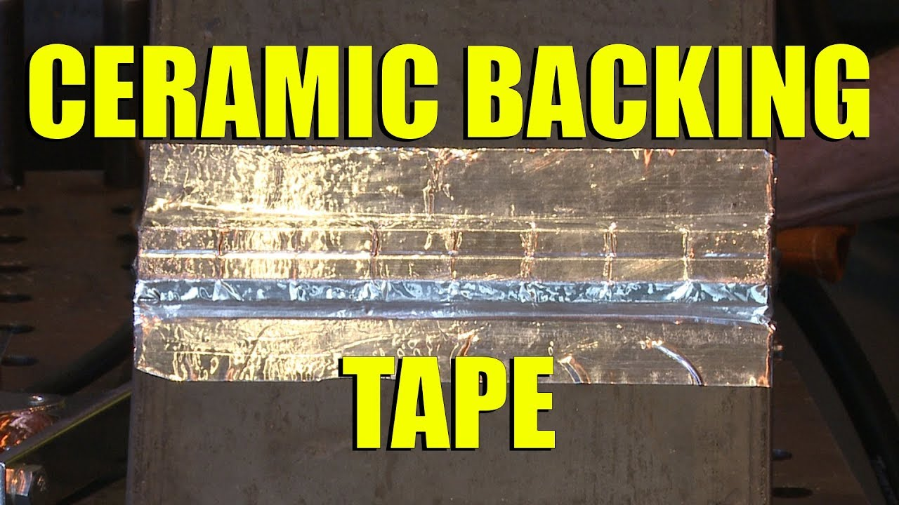 ceramic weld backing strip