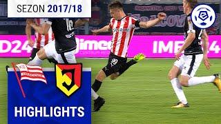 Cracovia - Jagiellonia Białystok 1:1 [skrót] sezon 2017/18 kolejka 08