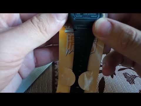 Часы китайские Casio F-91 с Ebay