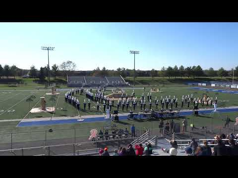 Robinson Secondary School Marching Rams, VBODA Marching Band Assessment 20191102