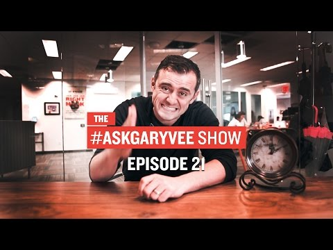 #AskGaryVee Episode 21: Video Views, App Marketing, and Time Management