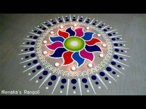 Diwali Rangoli Design   Diwali Kolam   Diwali Muggu