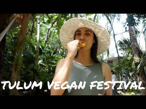 Tulum Vegan Festival // [Vegetaryn Vlog in Mexico]