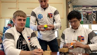White Jackets Unbox YuXin HuangLong 3x3s ft. Andy Denney, Stanley Chapel, and Rami Sbahi