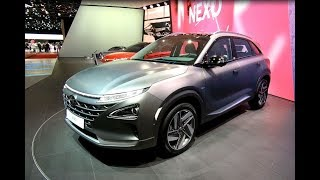 HYUNDAI NEXO FUELL CELL SUV NEW MODEL 2018 WORLD PREMIERE WALKAROUND + INTERIOR