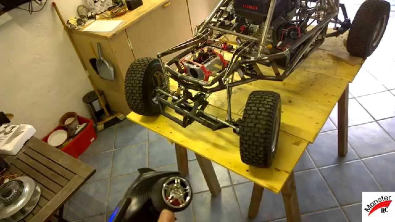 rc car 1 3 scale 1 3 homemade rc part 1 monster rc youtube. Black Bedroom Furniture Sets. Home Design Ideas