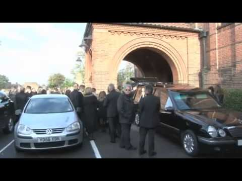 Eric Clapton on Jack Bruce's funeral with Ginger Baker in 2014. november