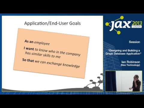 Ian Robinson: Designing and Building a Graph Database Application