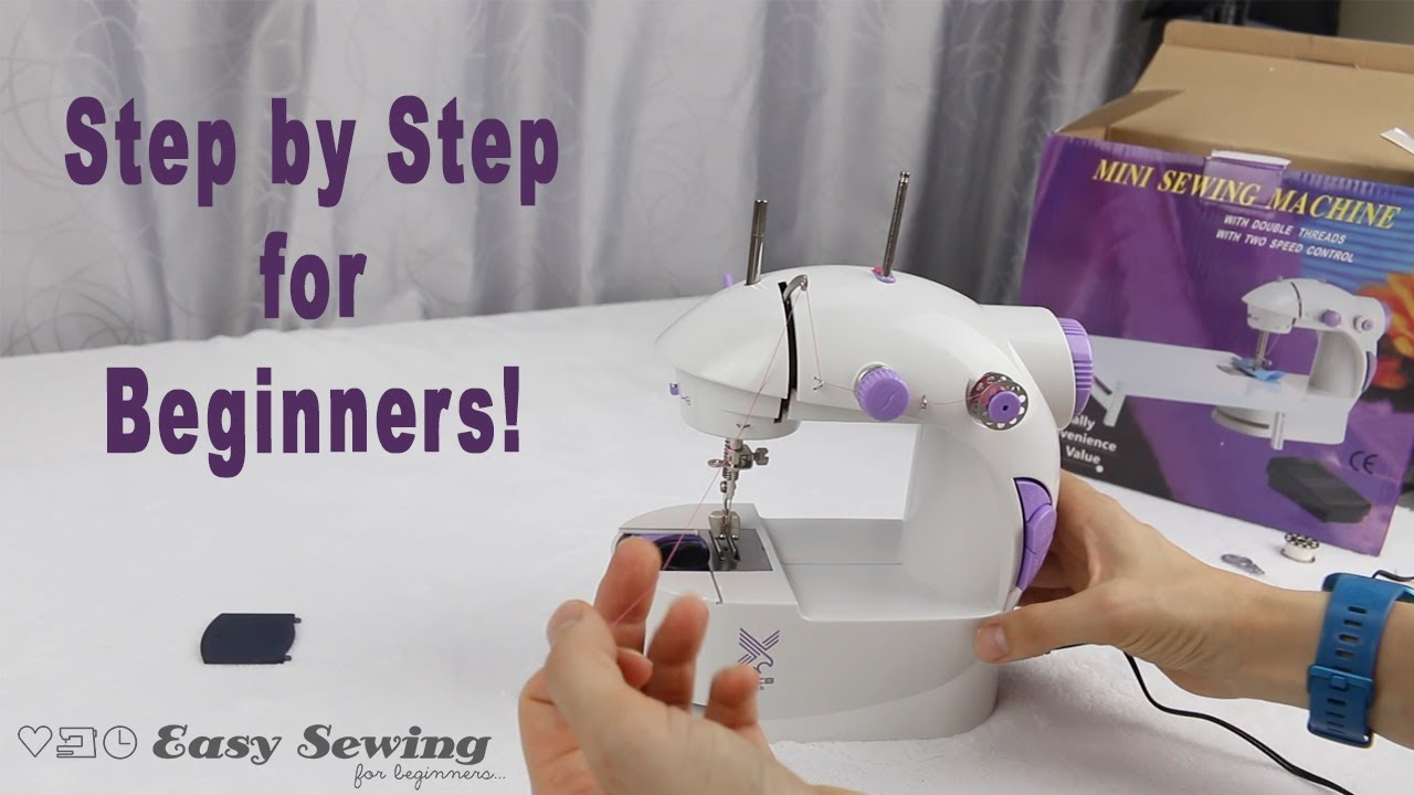 Download How to Operate a Mini Sewing Machine  - Tutorial