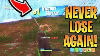 NEVER Choke AGAIN Fortnite Season 6! How to Win Fortnite BEST Tips and Tricks! (Ps4/Xbox Best Tips)
