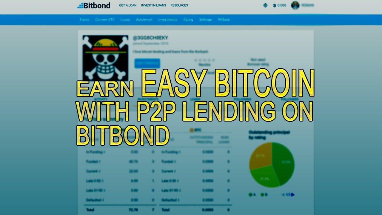 bitcoin p2p lending platforms