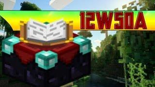 Minecraft - Snapshot 12w50a - 3D, neue Verzauberungen und mehr [Deutsch ] + Download