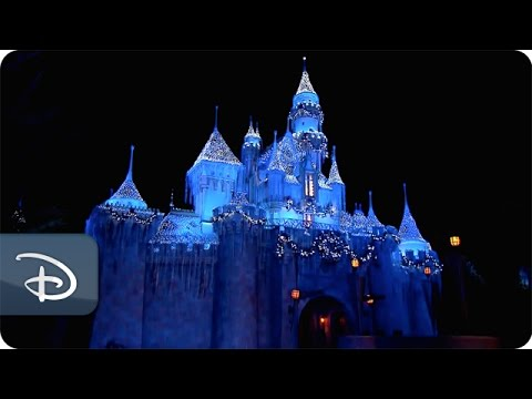 Time Lapse Sleeping Beautys Winter Castle Disneyland Park Youtube
