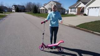 The Space Scooter: Easy Mobility For All Ages!
