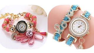 Best ladies watch collection//Designer watch for ladies//Beautiful girls watch design ideas