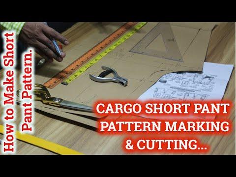 cargo-shorts-pants-pattern-making-|-how-to-make-short-pant-pattern