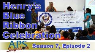 APS Snapshots - 7x02 - Henry's Blue Ribbon Celebration