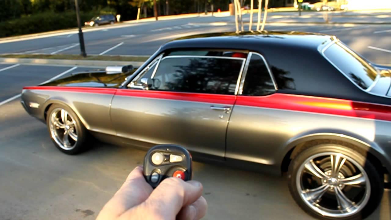 1968 Cougar Xr 7 Restomod Keyless Entry Power Windows
