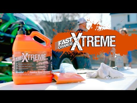 Automotive Hand Cleaner for Mechanic | Fast Orange® Xtreme