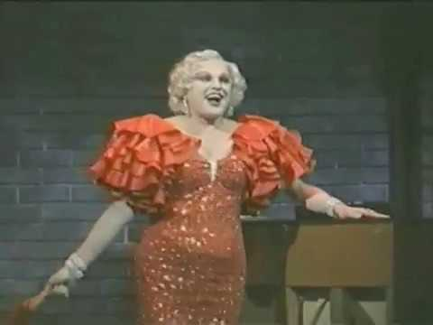 JIM BAILEY as Mae West