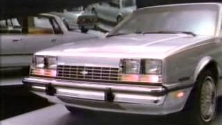 Chevrolet Celebrity ad from 1982
