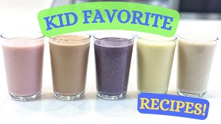 5 Healthy Smoothie Recipes For Kids