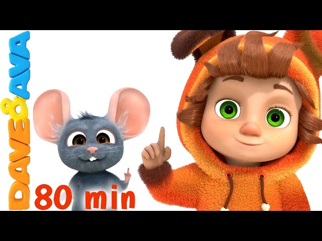 Learning Video Collection for Kids | Educational Videos and Nursery Rhymes from Dave and Ava
