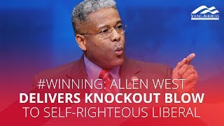 #WINNING: Allen West delivers knockout blow to self-righteous liberal