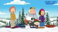 Family Guy Peter hat einen Schlittenunfall ( German / Deutsch )