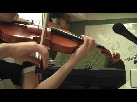 Wedding Dress Violin - Taeyang cover (annotations tutorial)