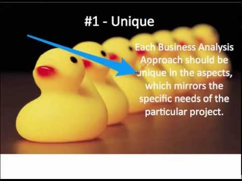 How to do a Business Analysis Approach and Plan - YouTube - what is business analysis