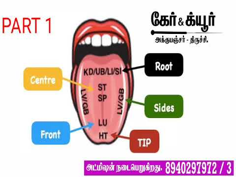 ACUPUNCTURE IN TAMIL/ TCM IN TAMIL/ TONGUE DIAGNOSIS