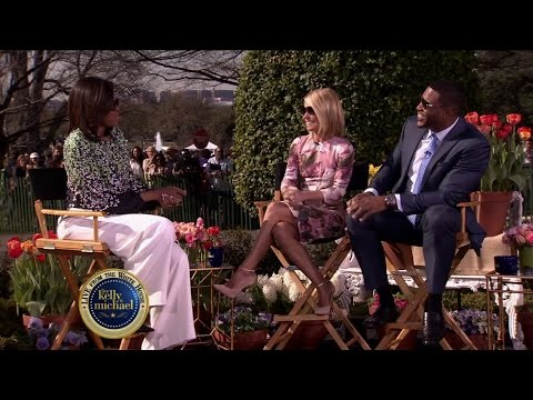 First Lady Michelle Obama on LIVE