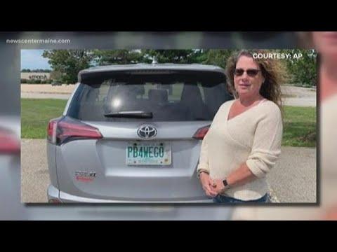 New Hampshire woman beats DMV to keep 'PB4WEGO' license plate