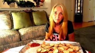 mukbang french fries eating show vegan plant based vegan mama mi