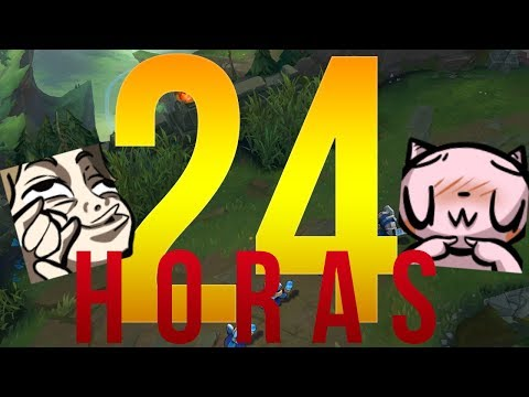 24 HORAS - LEAGUE OF LEGENDS (SORTEO EN LA DESCRIPCION) [PARTE 2]