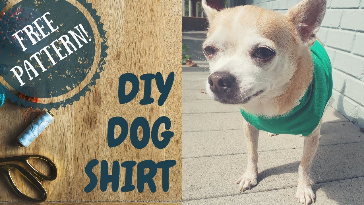 5160fc450 Easy Dog Shirt Pattern