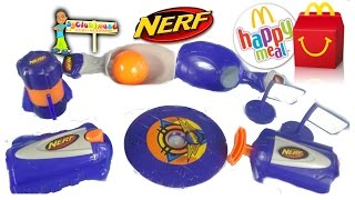 2015 NERF MCDONALDS HAPPY MEAL TOYS | COMPLETE SET