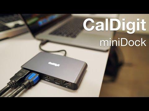 CalDigit Thunderbolt 3 Mini Dock Review - Two 4K Displays, USB and Ethernet