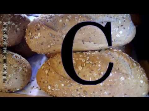 Appetitizing ABC song: learn alphabet & get appetitized by No-knead Bread of bakery buffet!