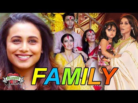 Rani Mukerji Family With Parents, Husband, Daughter, Brother & Biography