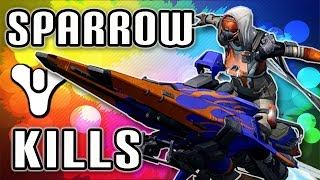 Destiny - Funny Moments - Trolling - Sparrow Kills + Epic Drop!! (Trolling Alert)