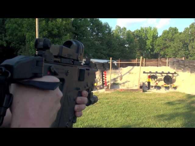 Shooting The KRISS Vector SDP Pistol - YouTube