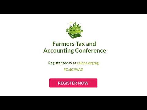 FARMERS TAX AND ACCOUNTING CONFERENCE - YouTube