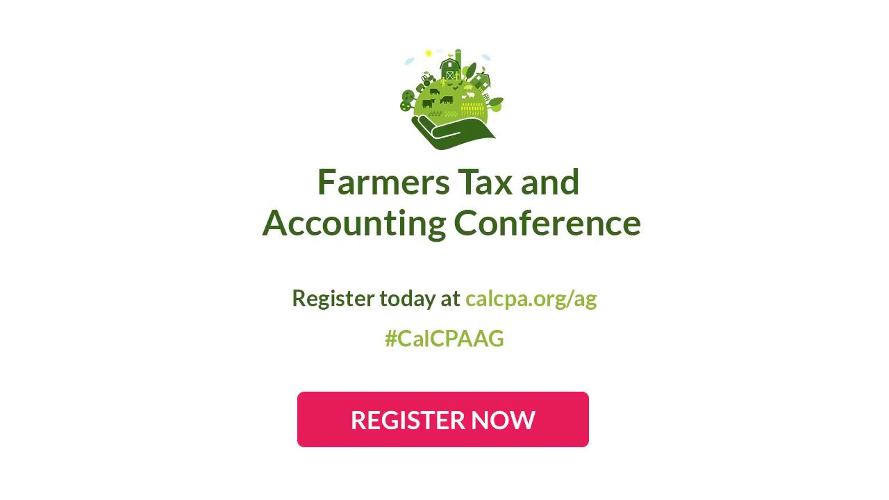 FARMERS TAX AND ACCOUNTING CONFERENCE