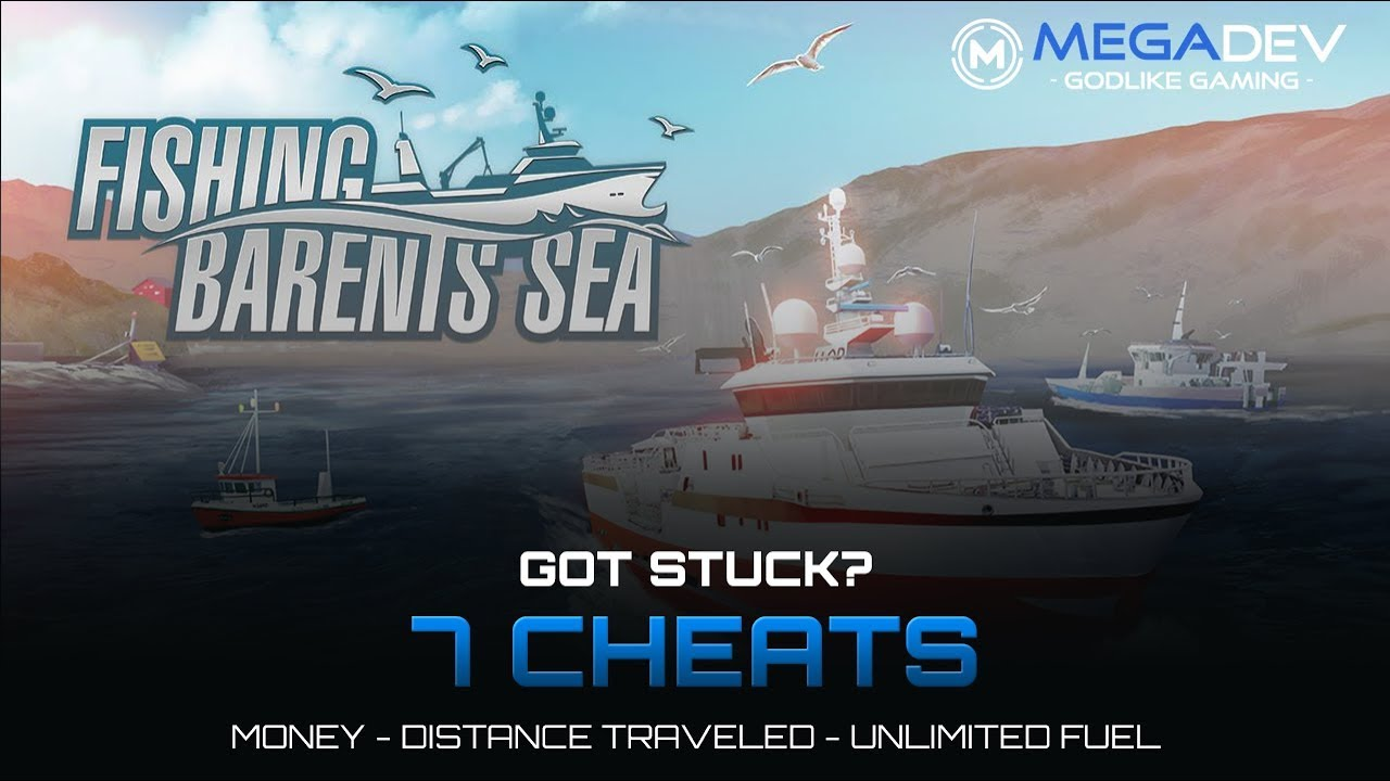 Fishing Barents Sea Cheats Money Distance Travelled Fuel