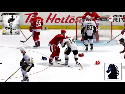 PS3 NHL Legacy Edition - Detroit Red Wings vs Pittsburgh Penguins