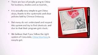 How to get China Visa from India